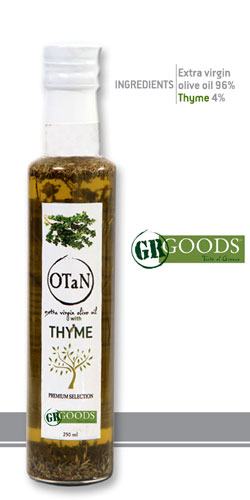 Extra Virgin Olive Oil with Thyme