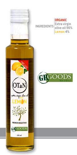 Organic Lemon Seasoned Olive Oil